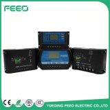 青バックライトLCDの表示が付いている中国の調整装置12のボルト24V 30A PWMの太陽コントローラ