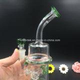 Tubo di acqua di fumo di vetro variopinto per fumare