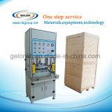 Caisse/cuvette de cellules de poche formant la machine pour les films Aluminium-Stratifiés