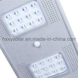 25W 옥외 운동 측정기 빛 LED 태양 램프
