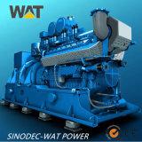 セリウム、SGSの証明書(WT-500GFT)が付いている500kw天燃ガスの発電機セット