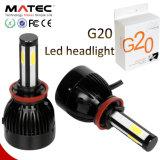 자동 C6 G5 G20 옥수수 속 차 LED 헤드라이트 전구 80W 96W, 40W G20 H1 H3 H11 H13 9007 9005 9006 Hb3 Hb4 5202 H4 차 H7 LED 헤드라이트
