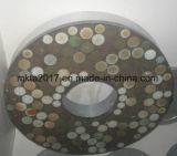 金属のガラスのためのとらわれのダイヤモンドの粉砕車輪