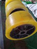La coutume jaune de Tfp font le fournisseur de rouleau de polyuréthane