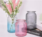 Vaso di vetro di vetro di colore dei regali & dei mestieri delle decorazioni della casa del vaso del campione libero