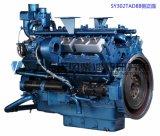 Moteur diesel de 6 cylindres. Moteur diesel de Changhaï Dongfeng pour le groupe électrogène. 121kw