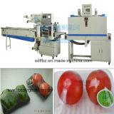 Свежие фрукты управлением PLC Omron автоматические, Vegetable машина для упаковки Shrink
