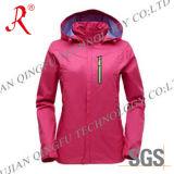 Водоустойчивая и Breathable куртка лыжи (QF-6080)