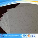 12mm Worm Design Placa de teto de fibra mineral