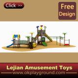 CE magnifique terrain de jeux d'amusement des enfants de l'École d'équipement (X1225-3)