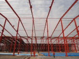 Almacén de la estructura de acero/taller ligeros modulares prefabricados 734