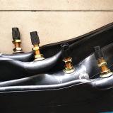 Chambre à air butylique de moto de roue d'Aproved trois de POINT pour l'Amérique
