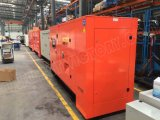 113kVA geluiddichte Diesel Generator met Lovol Motor 1006tg1a voor de Projecten van de Bouw