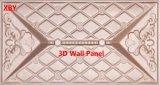 панель стены панели 400*400 PU панели стены 3D кожаный