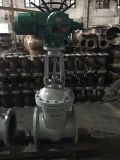 Elektrischer Stellzylinder-multi Drehung-Absperrschieber