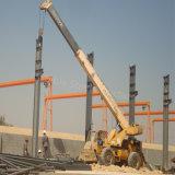 Construction préfabriquée d'entrepôt de logistique de structure métallique avec le grand escompte