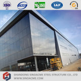 Sinoacmeは飛行機の維持のための大きいスパンの鉄骨構造の格納庫を組立て式に作った
