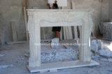 Camino beige naturale del marmo del travertino (SY-MF321)