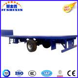 1 Aanhangwagen van de Container van de As BPW 40FT Flatbed Semi met VoorVatting