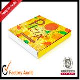 Gran Fábrica de Cartón Ondulado laminado más barata de personalizar la caja de pizza con la impresión, caja de cartón, papel, caja de regalo, Embalaje