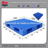 Plastic Pallet van het Type van Net van de Buis van de opslag de Op zwaar werk berekende Versterkte