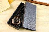 Cadre de montre de cadeau de papier de couverture de papier spécial de rectangle, cadre de montre d'emballage de cadeau