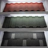 Gran Venta! ! ! Coloridos azulejos de techo de acero recubierto de piedra (Tamaño: 1340*420mm)
