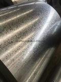 Le Gi de la Chine enroule la bobine en acier galvanisée plongée chaude avec la paillette régulière