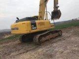 Buena excavador usado KOMATSU PC300-7 de las condiciones de trabajo correa eslabonada hidráulica para la venta
