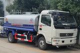 Caminhão de petroleiro 8000 litro da água de Dongfeng 4*2 caminhão do sistema de extinção de incêndios
