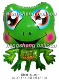 Воздушный шар шаржа лягушки