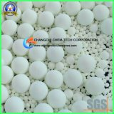99% von hohem Reinheitsgrad kalzinierte keramische Kugeln der Tonerde-Al2O3 für Aufsatz-Verpackung