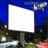 Знамя гибкого трубопровода Uneed новое освещенное контржурным светом PVC для рекламировать печатание цифров