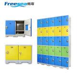 ABSプラスチック鋼鉄棚はロッカーの食器棚のロッカーを遊ばす