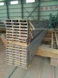 Tubo d'acciaio rettangolare di uso di industria della macchina dell'acciaio dolce