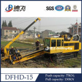 Perceuse directionnelle horizontale Dfhd-120 pour la pose de tuyaux