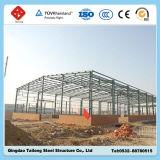Atelier d'acier de projet de structure métallique