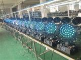 1つの棒段階ライト37PCS Xに付きRGBW 4つ9つのW LEDの移動ヘッド洗浄ズームレンズ