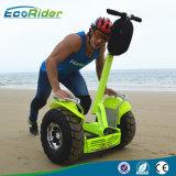 プロスマートな電気一人乗り二輪馬車4000W二重電池1266wh 72Vの21インチの脂肪質のタイヤの電気スクーター