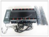 Система Jammer мобильного телефона наивысшей мощности GSM/CDMA/3G/4G, мобильный телефон 12bands 3G/4glte, GPS, Lojack, Jammer дистанционного управления/блокатор все в одном