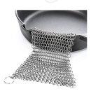 Impianto di lavaggio di Chainmail del POT della vaschetta dell'acciaio inossidabile