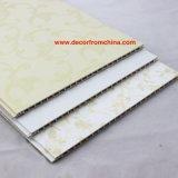 Painel de parede do PVC para o projeto do papel de parede da decoração interior