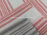 Пряжа покрасила Linen нашивку смешанную хлопком Fabric-Lz7391