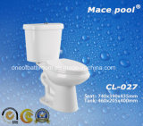 Tolette a due pezzi degli articoli sanitari per la stanza da bagno (CL-027)