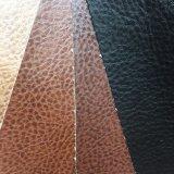 Padrão de lichia Faux PU para sofá de couro, poltrona reclinável Hw-1214 Otomano