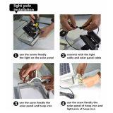 12 Bewegungs-Fühler-Sicherheits-Garten-Solarflut-Lampe LED-3W