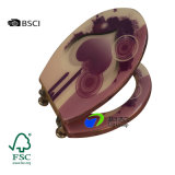 Los accesorios cómodos del cuarto de baño de Eco 304 bisagras de S/S retardan el asiento cercano del Wc