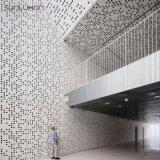 Pantalla moderna del arte de los paneles de pared del revestimiento de la pared exterior