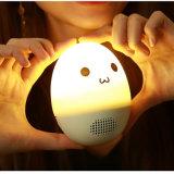 Netter Stereotrommel-Lautsprecher-drahtloser intelligenter Lautsprecher-lustiges Trommel-Spielzeug des Bluetooth Lautsprecher-LED bunter Bluetooth V4.1 für Kinder
