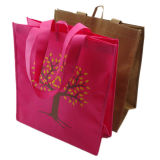 Qualidade superior promocionais barato reciclados para Sacola de Compras de impressão personalizado Tote bag bolsa não tecidos de PP